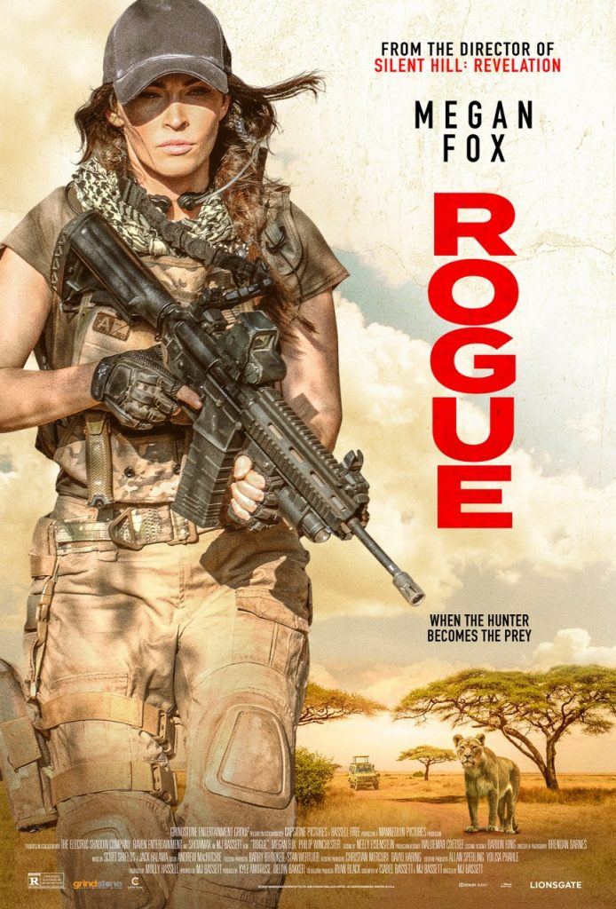 Rogue So...Megan Fox plays a tough-guy lady person in ROGUE. Let's talk about it.